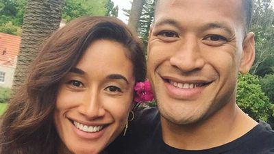 Israel Folau engaged to Kiwi netball star