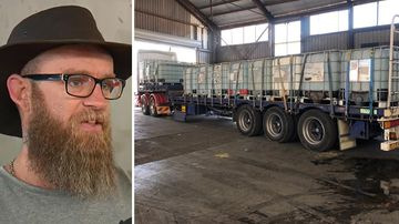 Food, 23,000L of water and $90,000 on its way to farmers