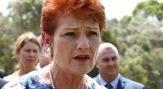Pauline Hanson. (File image)