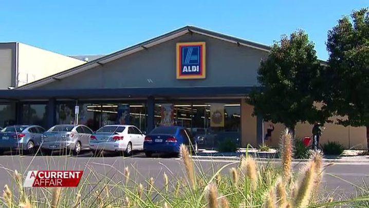 An Aldi shop