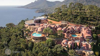 Pierre Cardin's iconic Bubble Palace still for sale
