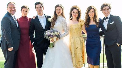 Selena Gomez went to her TV brother's wedding and the photos are amazing