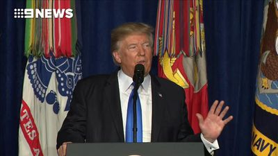 US in Afghanistan indefinitely: Trump