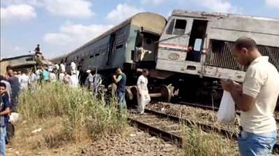 At least 36 killed in Egypt train collision