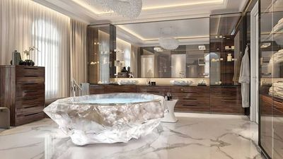 Dubai's newest holiday homes come with a $1 million bathtub