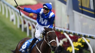 Winx first, daylight second in Cox Plate