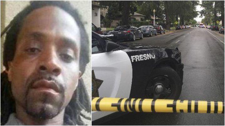Kori Ali Muhammad, 39, is is now in police custody. (Fresno Police/ CNN)