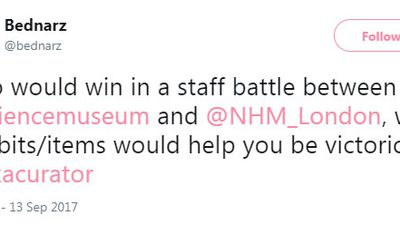 Two British museums had an epic diss battle over Twitter and things got nerdy