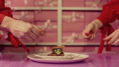 Here's what Wes Anderson making S'mores would look like