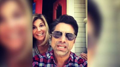 John Stamos and Lori Loughlin fulfil your Full House dreams with adorable Frozen duet
