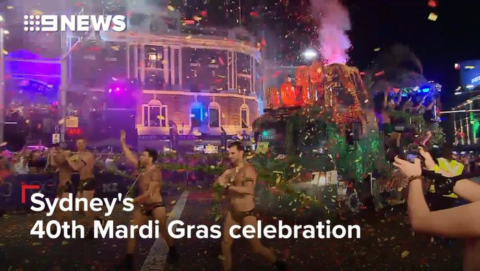 Thousands participate in Sydney's Gay & Lesbian Mardi Gras Parade