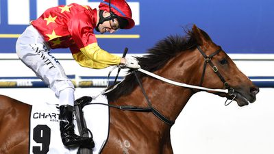Extreme Choice wins Goup 1 Moir Stakes