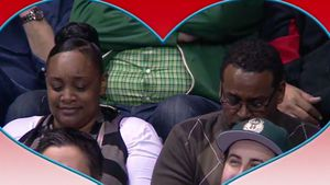 Kiss cam goes wrong