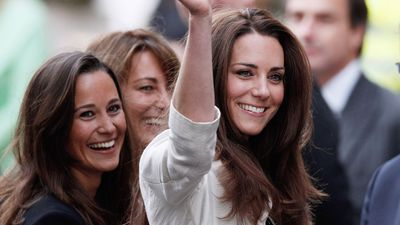 Kate and Pippa Middleton's special bridesmaid moment
