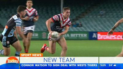 Wests Tigers to beat Newcastle in race for Sydney Roosters utility Connor Watson says The Mole