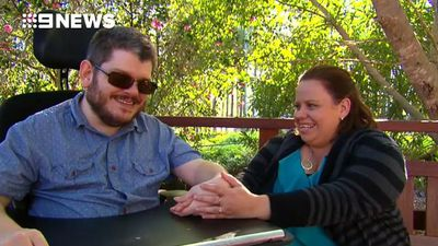 'I never thought I'd find somebody like her': Charity gives couple chance at love