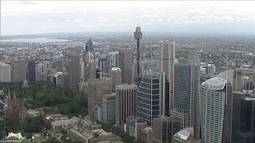 <p>multinationals budget sydney city skyline</p> <p></p>