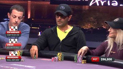 Poker star Tom Dwan crushes Antonio Esfandiari to win $800,000 in five minutes