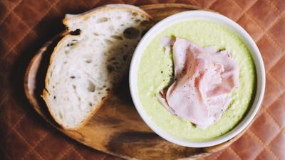 Jared Ingersoll's pea and ham soup
