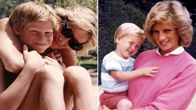 William and Harry's regret over call with Diana on day she died