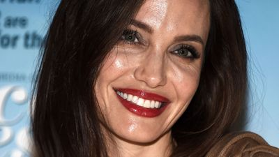 Angelina Jolie has a brand new look