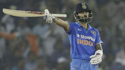 Kohli guides India to seven-wicket win over New Zealand