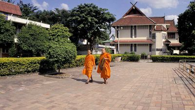 Chatting in Chiang Mai: One-on-one with a Buddhist monk in Thailand's spiritual capital