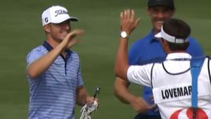 Hoffman snares rare result on par 5
