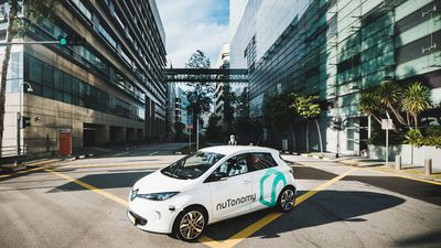 The world's first self-driving taxis make their debut in Singapore