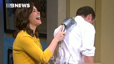 Karl and Lisa celebrate 35 years of TODAY with all the best bloopers