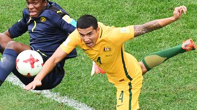 Cahill to join century club at Confed Cup