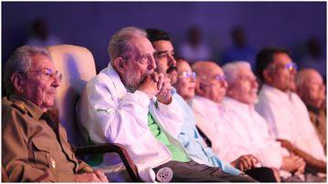 Fidel Castro has celebrated his 90th birthday in Cuba, Havana. (AFP)