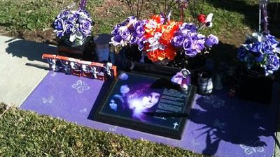 Mother ordered to change daughter's purple gravestone