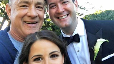 Tom Hanks crashes couple's Central Park wedding in the most charming way