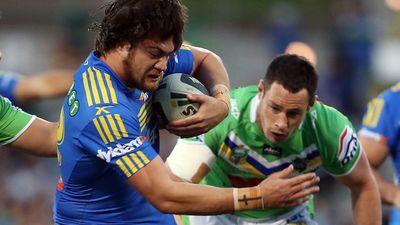 Parramatta Eels' forward Tepai Moeroa vows to end shoulder charges