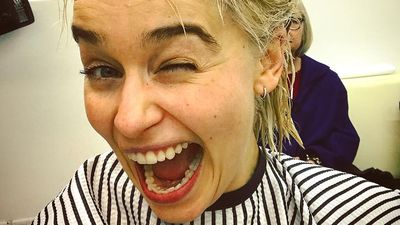 Emilia Clarke is a real-life Khaleesi