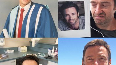 Happy 48th Birthday, Hugh Jackman! Here are 48 of his best selfies to warm your cold, tired heart