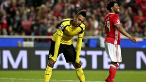 Dortmund striker has shocker of a game