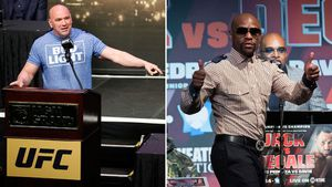 White fires back at Mayweather
