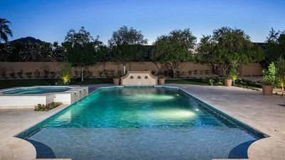 This is the $2.5m pool and property Olympian Michael Phelps owns