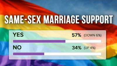 Gay marriage support drops: Newspoll