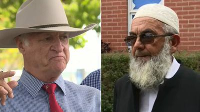 'It's out of character for Bob': Muslims saddened by Katter