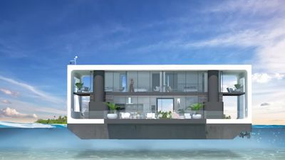 Floating houses could be key to housing in post climate change world