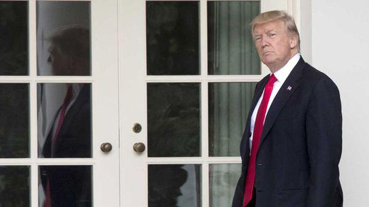 President Donald Trump. (AAP)
