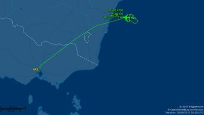 Qantas flight forced to land in Sydney after engine fault