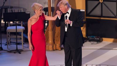 President Trump's right-hand woman 'punched' man at inauguration ball