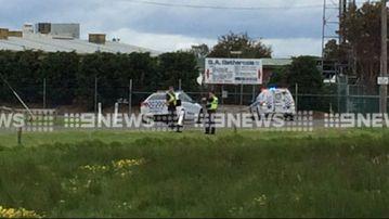A man has been shot in the legs near an abattoir in Carrum Downs. (9NEWS)