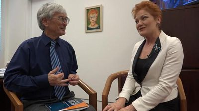 Hanson, Dick Smith in immigration talks