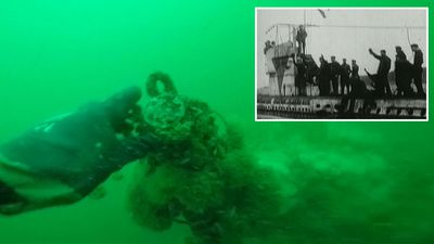 Divers find 23 bodies inside intact German WWI U-boat