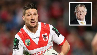 Gareth Widdop's injury will be a telling blow for the Dragons against the Melbourne Storm